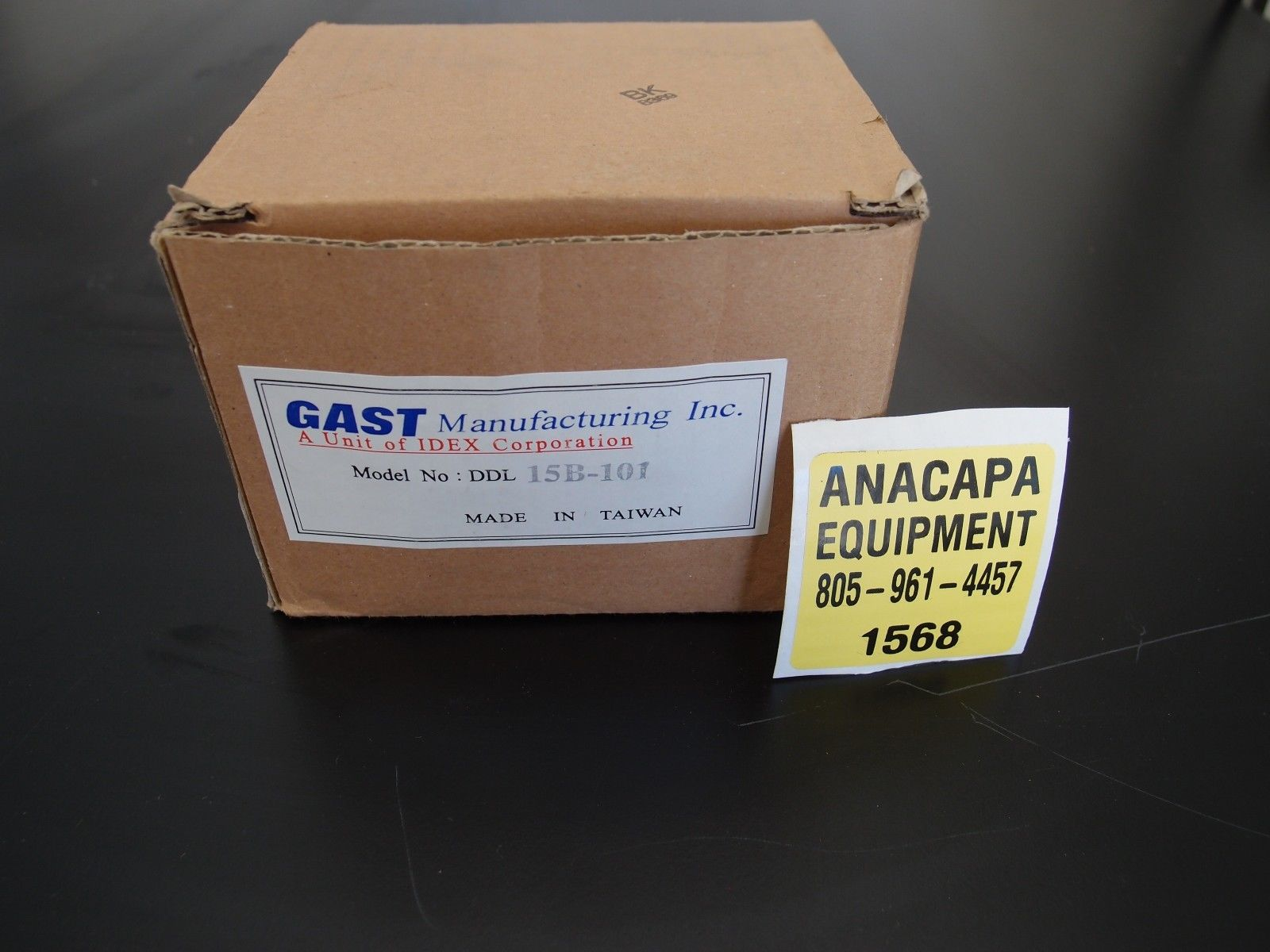Gast Ddl 15b Linear Vacuum Pump 3 Available In Original Boxes New Pumps Wiring Diagram