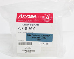 Corning Axygen PCR-96-SG-C 96-Well x 200µL PCR Microplate Non-Sterile NEW 6174