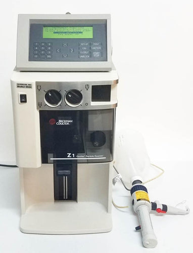 Beckman Coulter Z1 S Particle Counter and Size Analyzer w/ Control Module (1846)