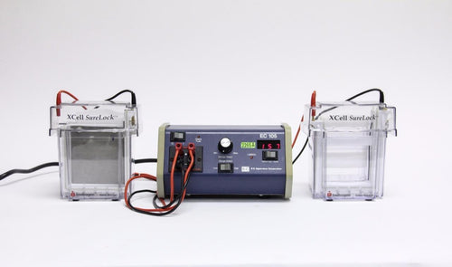 Invitrogen XCell SureLock Electrophoresis Cell & EC 105 Power Supply Lot(2265A)
