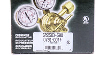 Victor Inert Gas SR250 D Pressure Regulator 5-125 psi CGA 580 Male Pigtail 2969