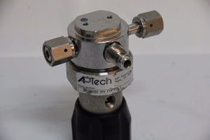 APTech AP1510SH Tied Diaphragm Regulator 3PW FV4 FV4 3000PSI CGA 316 Female 4449