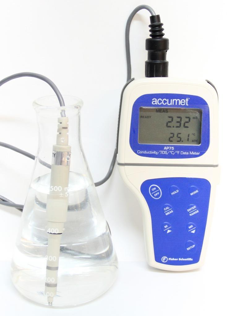 Accumet Fisher Scientific AP75 Portable Waterproof Conductivity Meter (4735)
