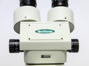 VanGuard Stereozoom Microscope WF10X with Stereo Boom Arm Stand (2080A)