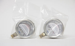 Mikai 30 PSI Air Pressure Gauge Lot of 2 (3783)
