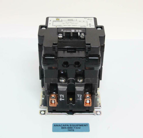 Square D 8502SE01S Contactor 115 V 60 Hz 7 1/2 HP 11 kW USED (7070) R