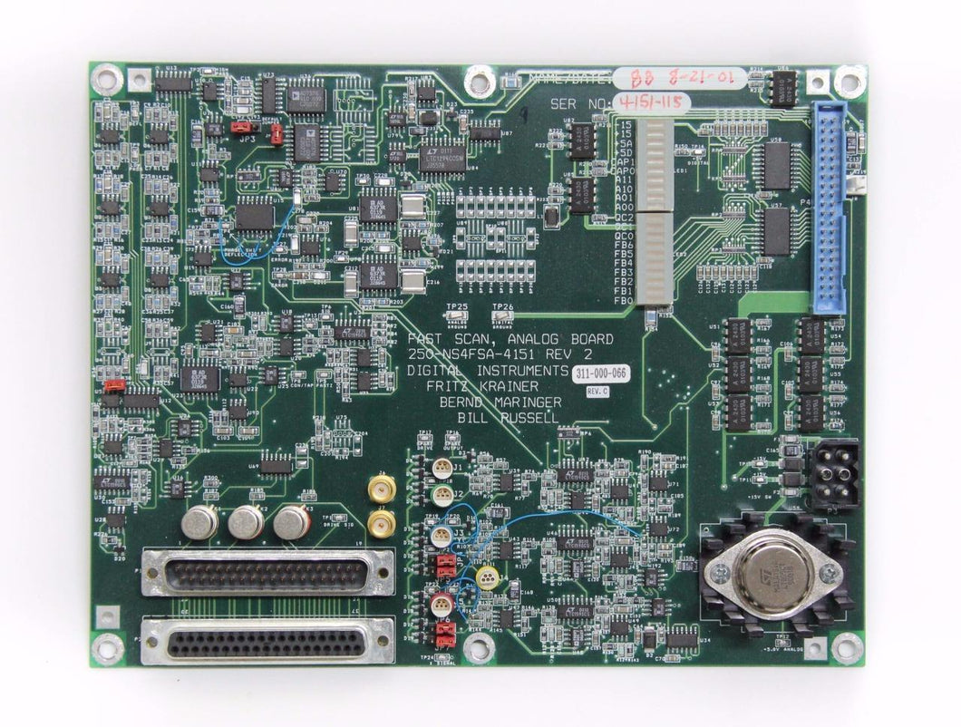 Digital Instruments Veeco Fast Scan, Analog Board 250-NS4FSA-4151 Rev. 2 (4281)