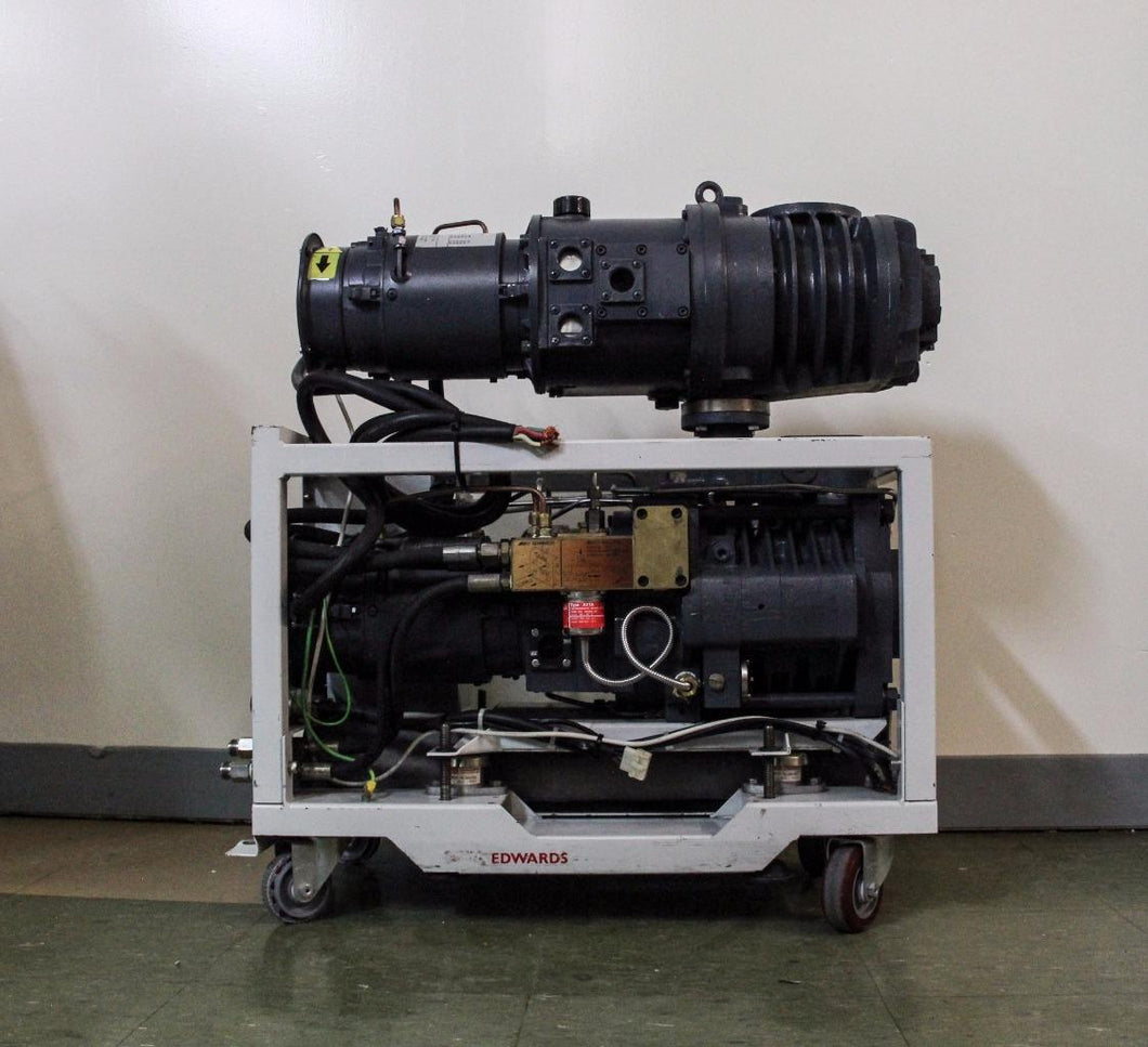 Edwards Drystar Dry Pump QDP40 & Mechanical Booster QMB250 (4268)