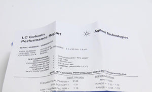 Agilent Technologies 827700-906 HPLC Column Rapid Resolution HT Zorbax SB (3354)