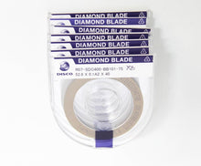 Disco Diamond Blade R07-SDC400-BB101-75 58x0.1A2x40 LOT of 7 NEW (5973)
