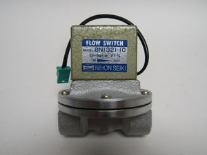 "Nihon Seiki Flow Switch BN1321-10 0.03 - 0.05 MPa Female 3/8"" Ports (3946)"