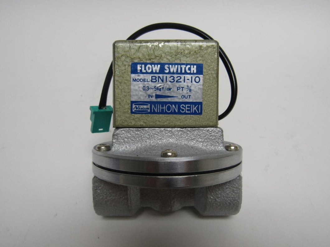 Nihon Seiki Flow Switch BN1321-10 0.03 - 0.05 MPa Female 3/8