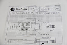 Allen Bradley 898D-44LT-DM4 4 Port Dual Channel Receptacles (4098)