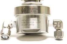Go Regulator PR7-1A11I8G114, Porter Instrument Pressure Regulator CGA 316 (5226)