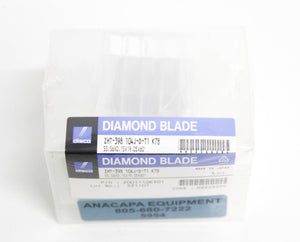 Disco Diamond Blade ZHT-398 104J-D-T1 K78 LOT of 5 NEW (5954)