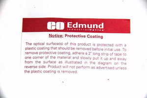 Edmund Industrial Optics Mirror 4-6 Wave 6mm Diameter X 0.5mm Thick  (5341)