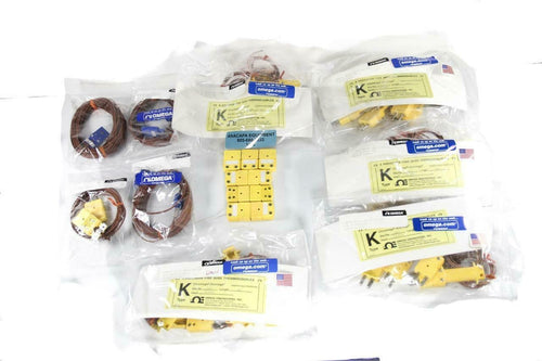 Omega 5LSC-6G-K Thermocouples Braid Insulation and Mold + Others MIXED Lot 7426