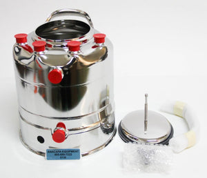 Alloy Products C530-4596-00 Stainless Steel 3-Gallon Pressure Vessel NEW 6130