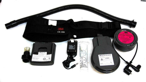 3M Belt-Mounted Powered Air Purifying Respirator (PAPR) Assembly GVP-CB (7458)W