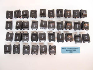 Arrow England 250011E714 Rocker Switch 15A 125VAC 10A 250VAC NEW Lot of 36 (4365