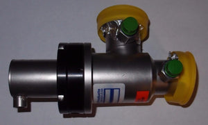 Nor-Cal High Vacuum Pneumatic Right Angle Elastomer Sealed Valve (3251)