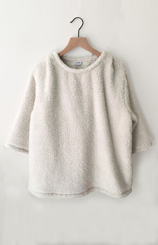 Fleece Pullover - Cream