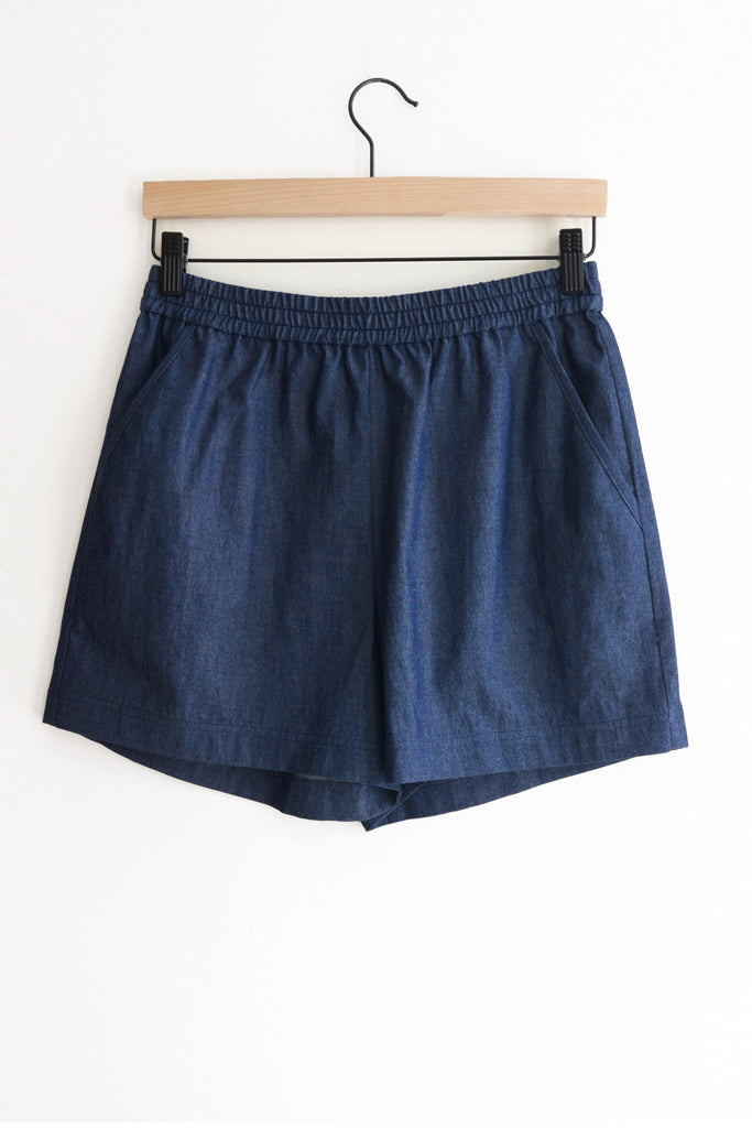 Jane Twill Short - Denim