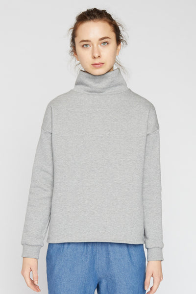 Fleece Funnel Neck Sweatshirt