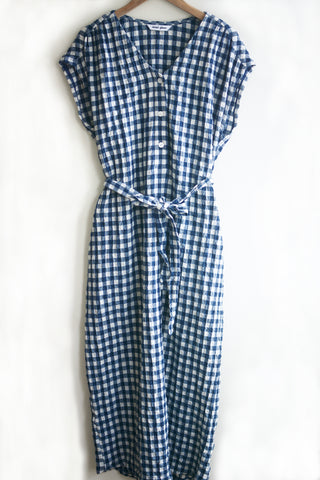 Tulip Dress - Puckered Gingham
