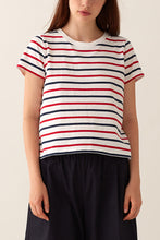Load image into Gallery viewer, Jaime Box Tee - Multi Stripe