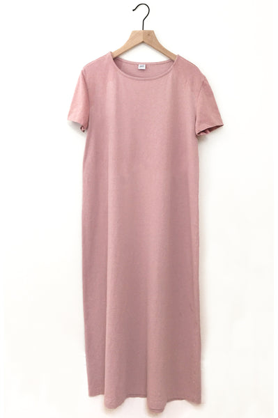 Picnic Tee Dress - Eraser pink