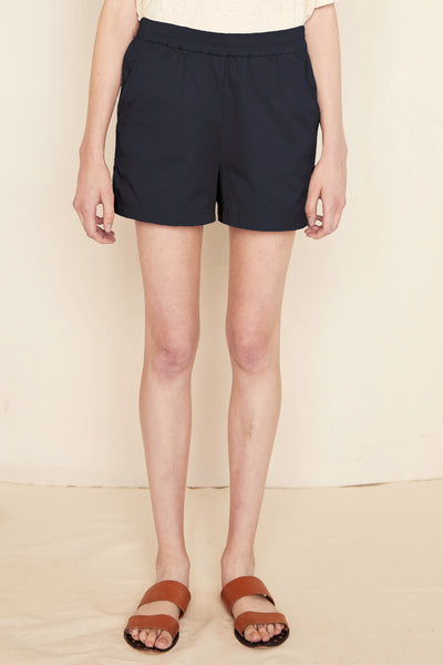 Jane Twill Short - Midnight
