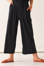 Load image into Gallery viewer, Pleated Pull-on Pants - Polka Dot Knit