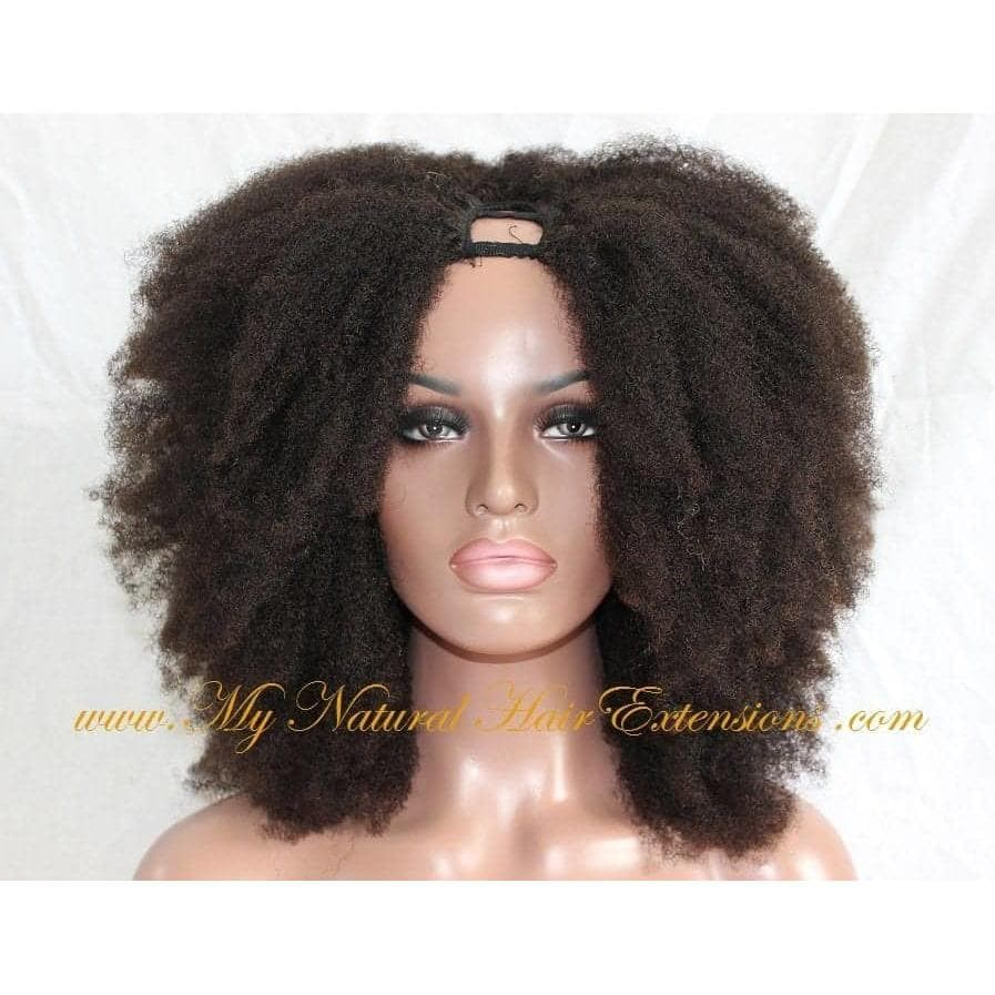 Buy Afro Kinky Wigs Natural Hair Wig 4c Curly Human Hair My Natural Hair Extensions