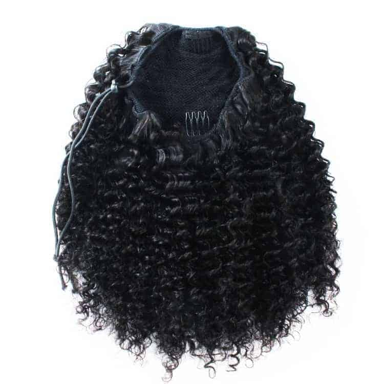 Kinky Curly Ponytail - .