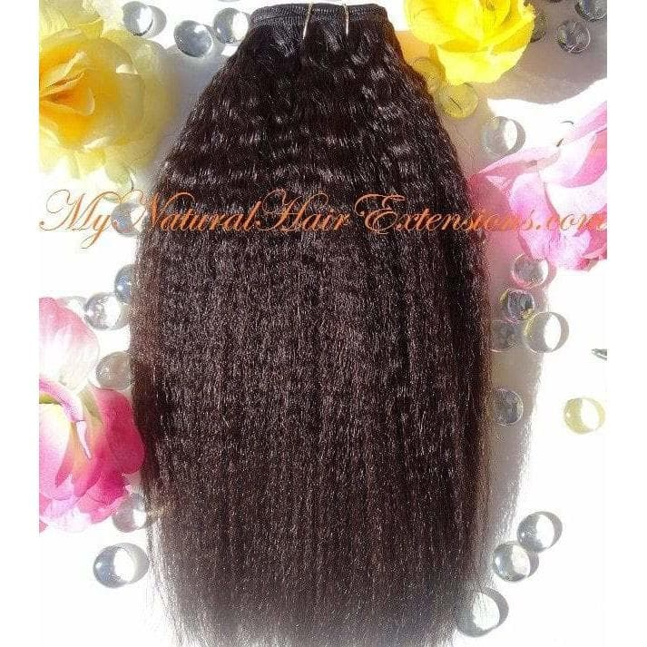 Kinky Straight Hair Extensions - .