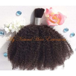 Afro Kinky Bulk - My Natural Hair Extensions