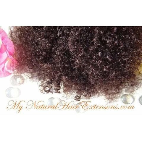 kinky curly bulk hair for braiding - My Natural Hair Extensions - 1