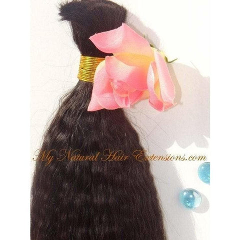 kinky straight bulk hair for braiding -