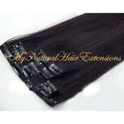 Perm Yaki Clip-ins - My Natural Hair Extensions