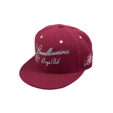 Promillionaires Boys Club Snapback - Red