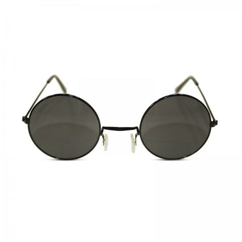 John Lennon Silver Frame with Black Lens