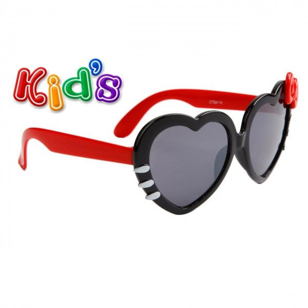 3f145c890a Kids Heart Shaped Sunglasses w  Colored Bows – Neon Nation