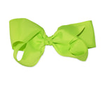 Load image into Gallery viewer, Large Neon Jumbo Hair Bow w/ Aligator Clip 80s Style Costume - Neon Nation