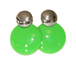 Load image into Gallery viewer, Neon Nation Circular Button 1980s Style Costume Earring - Neon Nation