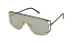 Load image into Gallery viewer, Rimless Sidecut Flattop Mirrored Sunglasses