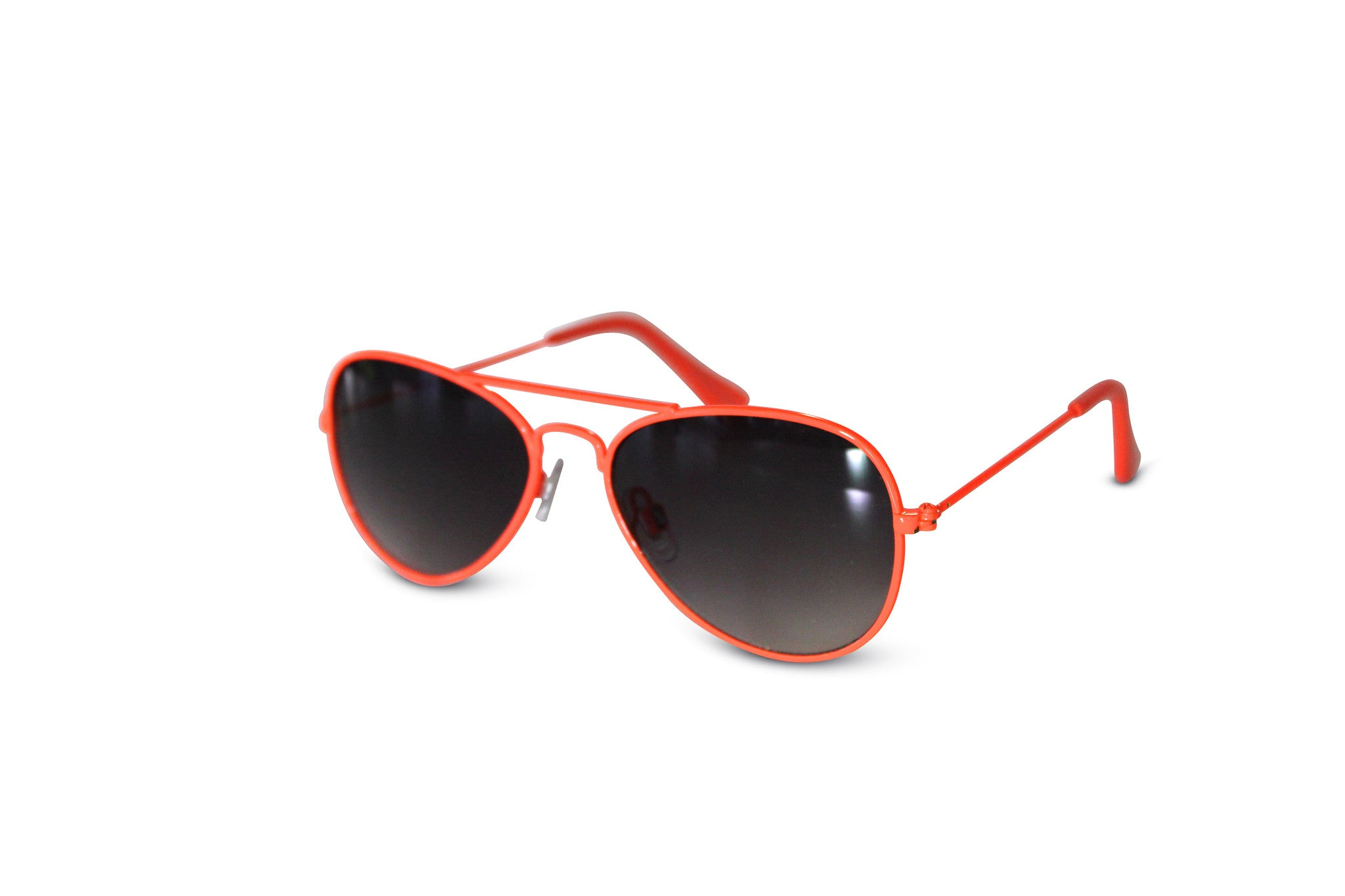 Neon Nation Unisex Kid Sized Colored Frame Aviator Sunglasses - Neon Nation