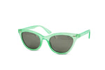 Load image into Gallery viewer, Clear Princess Cat Eye Neon Frame Wayfarer Sunglasses