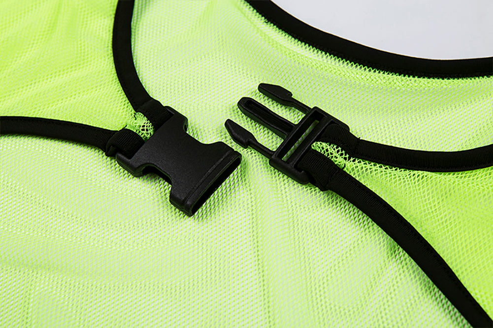 Neon Green Long Mesh Arm Sleeve Accessory