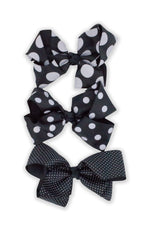 Load image into Gallery viewer, Jumbo Large Polka Dot Series Bow Tie Hair Clips